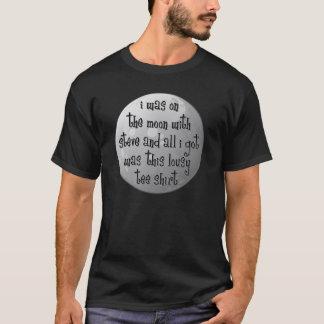 T-shirt Sur la lune avec Steve