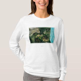 T-shirt Sur la traînée, à cheval à Mt. Lowe