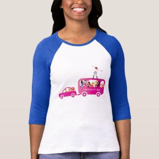 T-shirt Sur les douilles de l'autobus 3/4