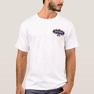 T-shirt Surf Ava du Samoa (rouge/bleu)