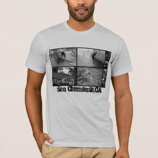 T-shirt Surf de noyau de San Clemente