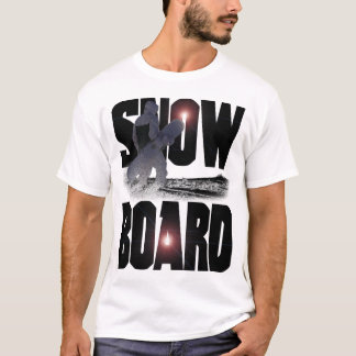 T-shirt Surf des neiges