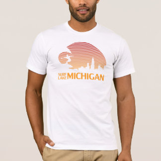 T-shirt Surf le lac Michigan