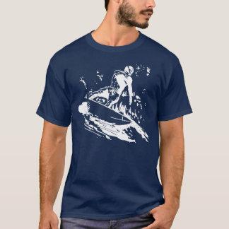 T-shirt surfant de vague