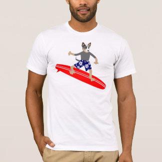 T-shirt Surfer australien de chien de bétail