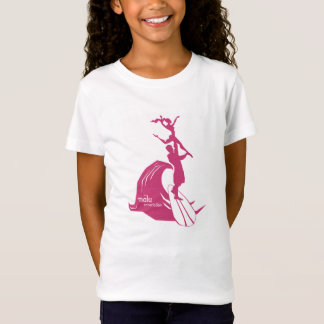 T-Shirt Surfer de tandem rosâtre
