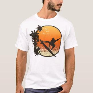 T-shirt Surfer le Sun ambre