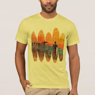 T-shirt Surfer pur