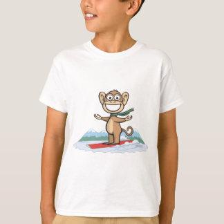 T-shirt Surfeur de singe