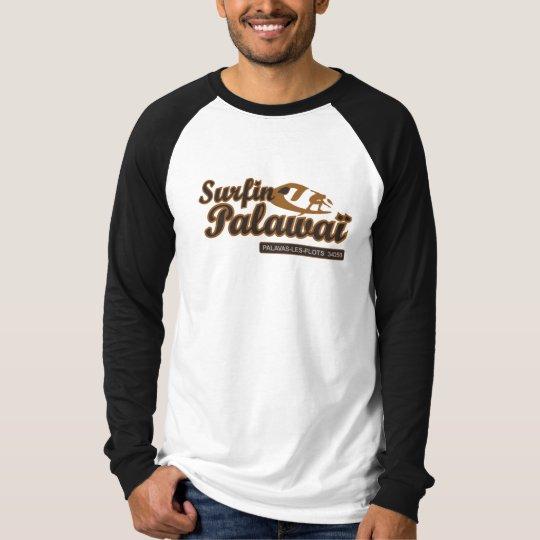T-shirt Surfing Palavaï Palavas-les-flots Surf