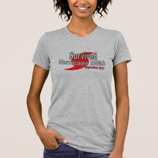 T-shirt survécu d'Irma d'ouragan