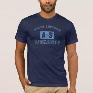 T-shirt Surveillant de Na A-5 - BLEU