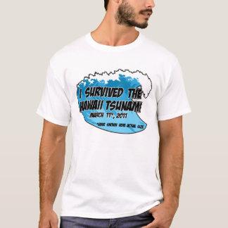 T-shirt Survivant 2011 de tsunami