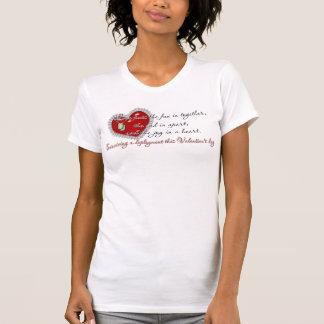 T-shirt Survivant à un déploiement ce Valentine