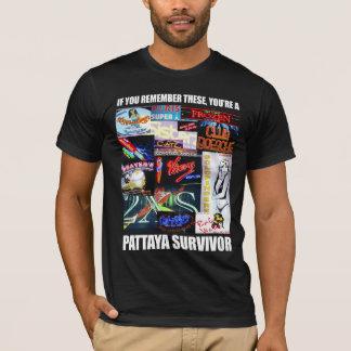 T-shirt Survivant de Pattaya
