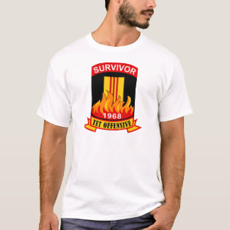 T-shirt Survivant - offensive de Tet - 1968