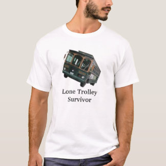 T-shirt Survivant solitaire de chariot