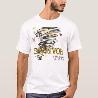T-shirt Survivant - tornade