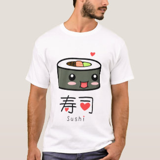 T-shirt Sushi de Kawai