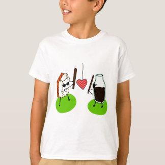 T-shirt Sushi et sauce de soja