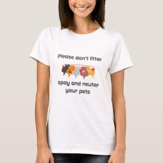 T-shirt Svp ne salissez pas