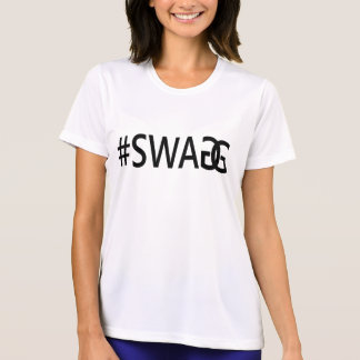 T-shirt #SWAG/pièce en t fraîche drôle et à la mode de