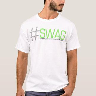 T-shirt #SWAG (T-shirt court de douille)