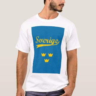 T-shirt Sweden, Sverige, 3 crowns