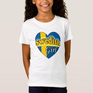 T-Shirt Swedish Girl