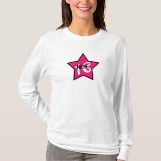 T-shirt Sweet sixteen personnalisé impertinent