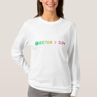 T-shirt Sweeter>3.14