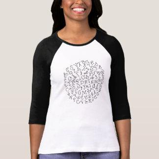 T-shirt Syllabary cherokee
