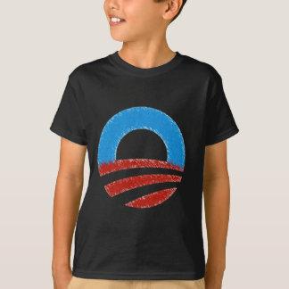 T-shirt Symbole affligé d'Obama