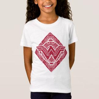 T-Shirt Symbole amazonien de femme de merveille