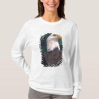 T-shirt Symbole américain de la liberté Eagle chauve dans
