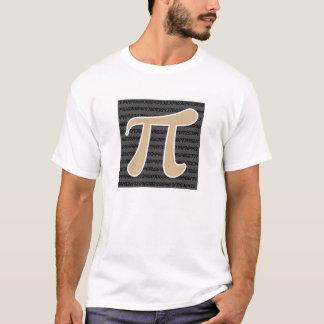 T-shirt Symbole bronzage de Brown pi