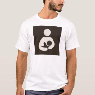 T-shirt Symbole Brown de allaiter/soins