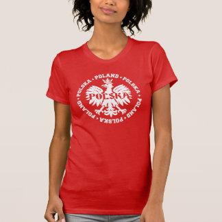 T-shirt Symbole couronné par Polska de la Pologne Eagle