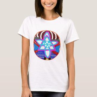 T-shirt Symbole curatif cosmique de Reiki Karuna d'ÉTOILE