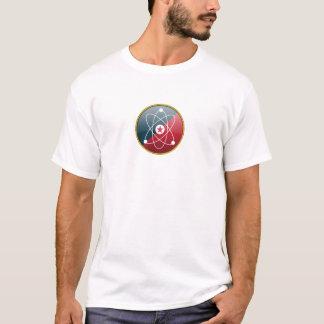 T-shirt Symbole d'atome (blanc)
