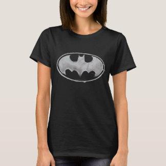 T-shirt Symbole de batte de café - gris