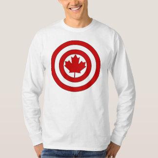 T-shirt Symbole de bouclier de capitaine Canada