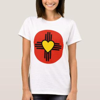 T-shirt Symbole de coeur de Zia