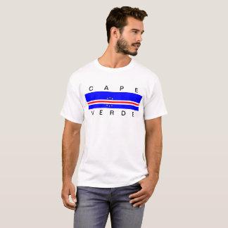 T-shirt Symbole de drapeau de pays du Cap Vert longtemps