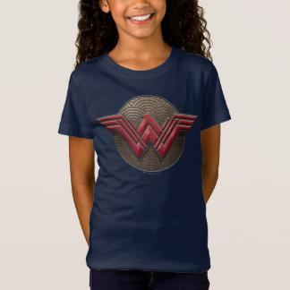 T-Shirt Symbole de femme de merveille au-dessus des