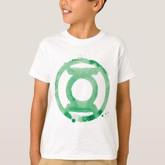 T-shirt Symbole de lanterne de café - vert