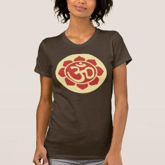 T-shirt symbole de lotus d'ohm