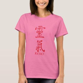 T-shirt Symbole de Reiki en encre rouge