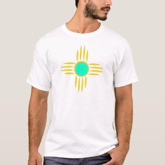 T-shirt Symbole de Zia Sun d'or