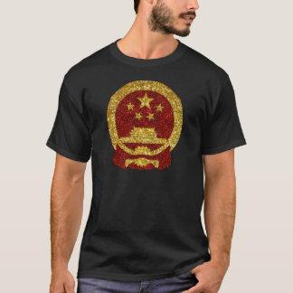 T-shirt Symbole national chinois dans le scintillement